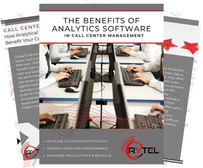 Call Center Analytics eBook Preview Image