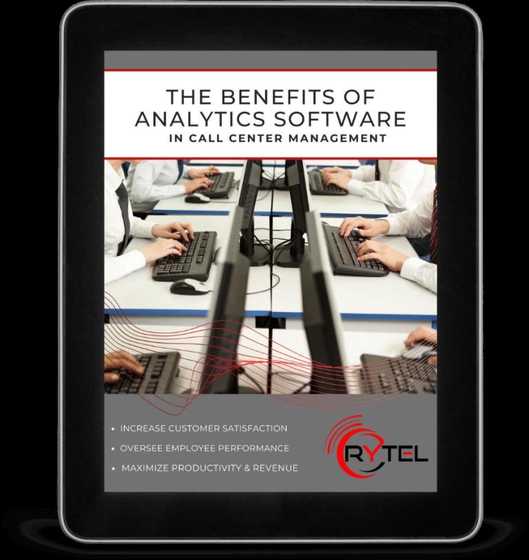 Call Center Analytics on Tablet