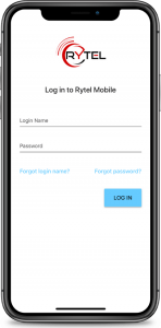 RyTel Mobile on iPhone